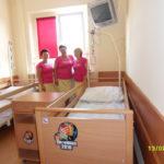 dostawa do szpitala w Pajęcznie - w ramach współpracy z Wielką Orkiestrą Świątecznej Pomocy