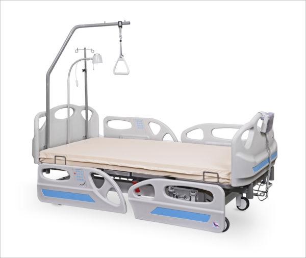 łóżko rehabilitacyjne szpitalne elektryczne ANDIMED z wyposażeniem