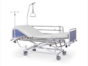 Łóżko rehabilitacyjne szpitalne elektryczne A z wyposażeniem