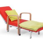 Łóżko-fotel szpitalny dla rodzica Bożenka z podłokietnikami