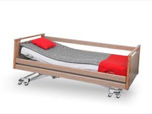 Łóżko rehabilitacyjne Darion w obudowie drewnianej