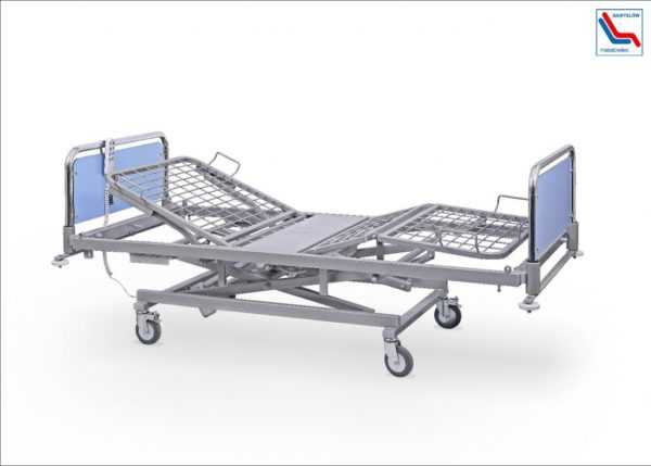 Łóżko rehabilitacyjne szpitalne elektryczne A/3S Irena
