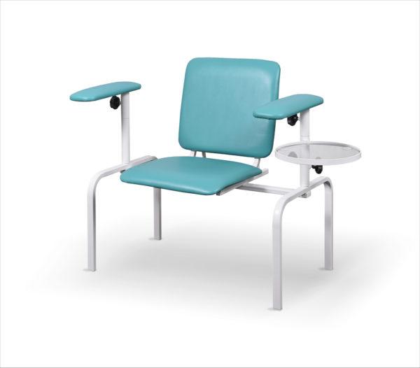 Fotel do pobierania krwi z dwoma podłokietnikami FK 02