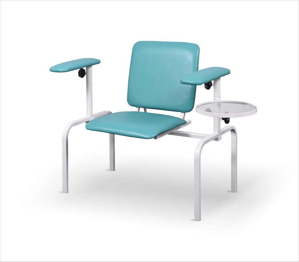 fotel do pobierania krwi z dwoma podłokietnikami FK-02