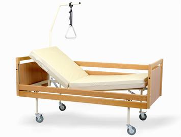 Łóżko rehabilitacyjne A4 W Obudowie Drewnianej Z Wyposazeniem