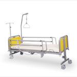 Łóżko rehabilitacyjne szpitalne elektryczne Frater z wyposażeniem