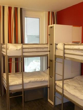 Hotelowe łóżko Pietrowe TYP 2B 1