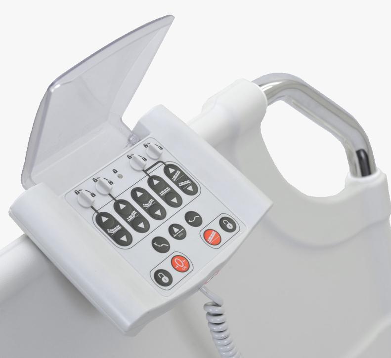 panel sterujący łóżko szpitalne elektryczne